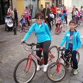 Día de la bici de las AMPAS