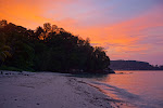 Sunset at Mandukan Island