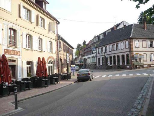 Le village de la Petite-Pierre.