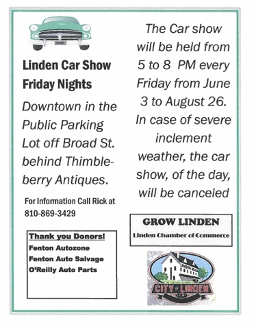 Thimbleberry Antiques Summer Car Shows Beginning - Car shows tonight