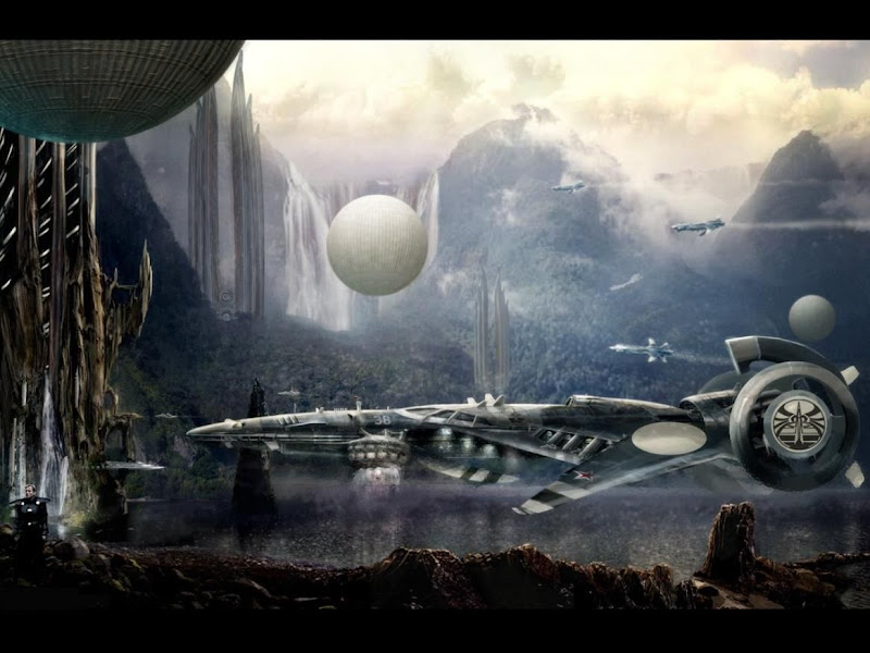 Space Ships Come, Fiction 1