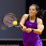 STUTTGART, GERMANY - APRIL 16 : Laura Robson in action at the 2016 Porsche Tennis Grand Prix