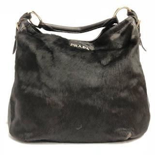 Prada Fur Hobo Bag