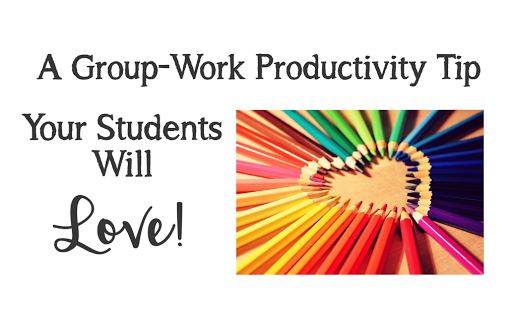 Group work isn't without its challenges. This quick and easy tip enhances productivity, gets kids focused immediately, and gives group members a sense of camaraderie. Your kids will LOVE it, and so will you!