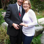 the happy couple in Toronto, Ontario, Canada