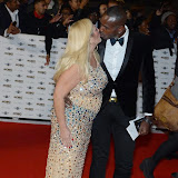 WWW.ENTSIMAGES.COM -    Vanessa Feltz and Ben Ofoedu   arriving at   MOBO Awards 2014 at SSE Arena Wembley October 22nd 2014Annual awards show recognising the best in urban music which is supported by HTC Photo Mobis Photos/OIC 0203 174 1069