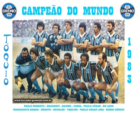 1983 - Poster - Campeao do Mundo 1983 B