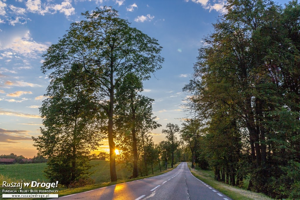 Zielona Warmia - warmińskie drogi