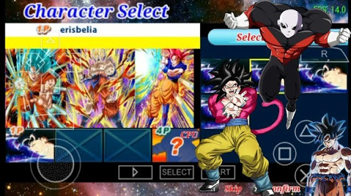 SAIUU NEW NOVO MENU + ISO MOD  TENKAICHI TAG TEAM DRAGON BALL SUPER DOWNLOAD (PSP) 2018 DESCARGA