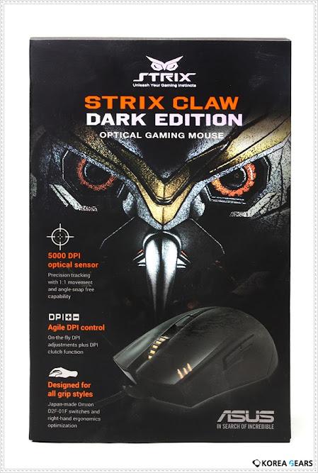 Asus Strix Claw Dark Edition - Vũ khí chiến lược dành cho dân FPS