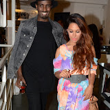 WWW.ENTSIMAGES.COM -Preeya Kalidas and Mis Teeqat       No Cigar Magazine - issue launch party at agnés b, 35-36 Floral Street, London, July 4th 2013                                            Photo Mobis Photos/OIC 0203 174 1069