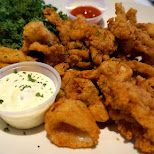 calamari at Eagle Cafe in San Francisco in San Francisco, California, United States