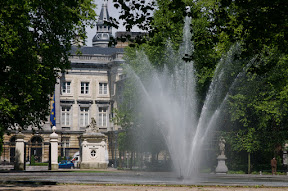 Fountain in Parc Bruxelles