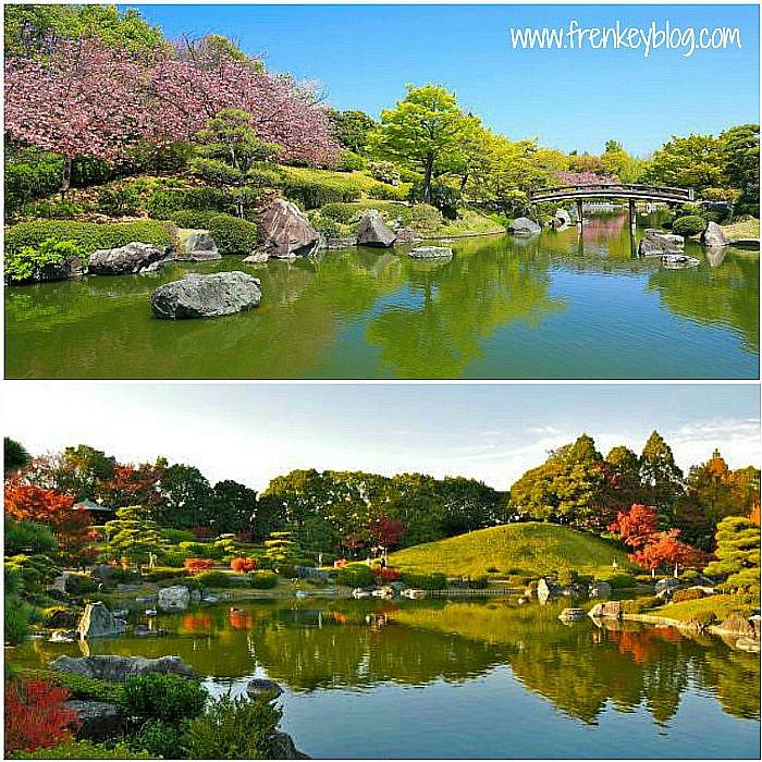Japanese Garden Daisen Park ( Musim Sakura dan Musim Gugur )