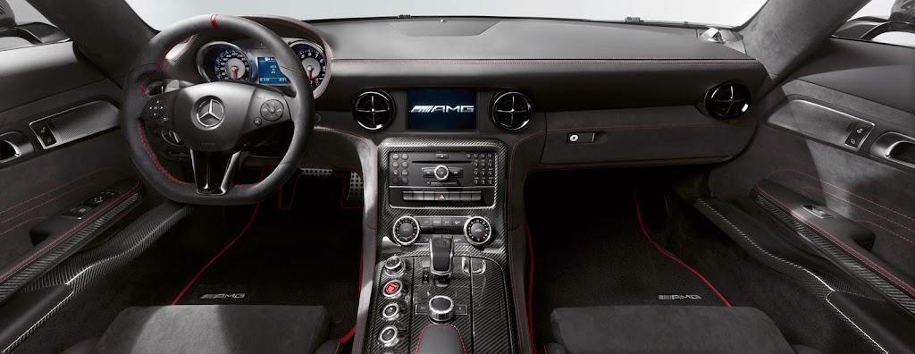 2014 Mercedes-Benz SLS AMG Black Series Interior