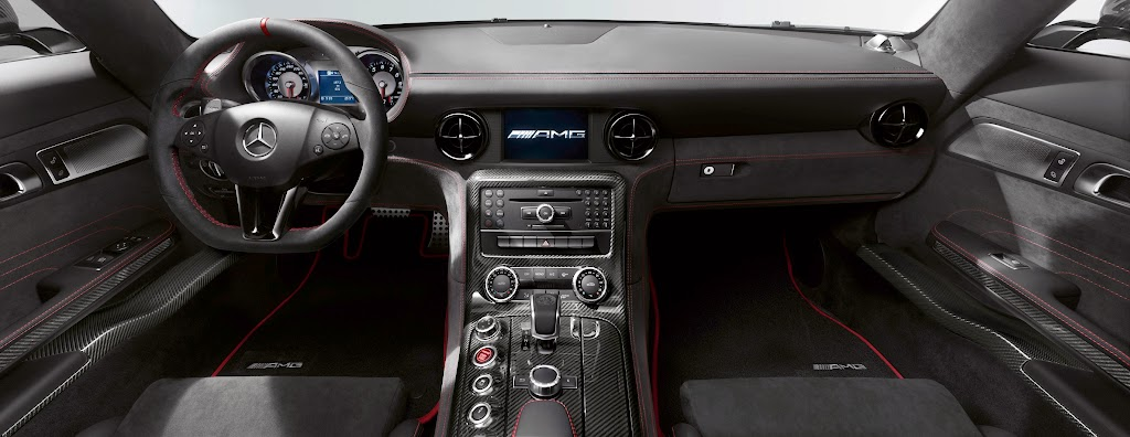 2014 Mercedes-Benz SLS AMG Black Series Interior