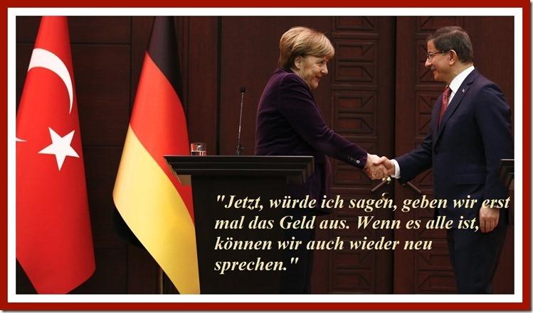 Merkel und das Geld für die Türkei