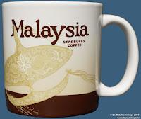 Malaysia 1 icon demitasse mit