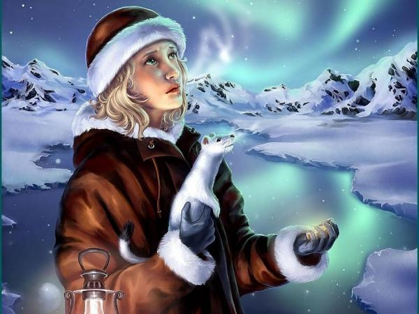 Winter Landscape With Girl, Magic Beauties 3