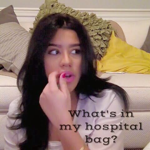 What's In My Hospital Bag? // & What I Actually Used