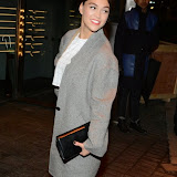 WWW.ENTSIMAGES.COM -     Sabrina Bartlett  arriving at        Mondrian London - hotel launch party at Mondrian London October 9th 2014New London hotel, designed by Tom Dixon and owned by Morgans Hotel Group, hosts VIP evening to mark its launch on London's South Bank in the iconic Sea Containers building next to the OXO Tower. The hotel features 359 rooms and suites, a spa, meeting spaces, riverside bar and brasserie.                                                Photo Mobis Photos/OIC 0203 174 1069