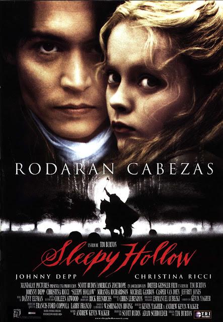 Sleepy Hollow peliculas para ver en Halloween halloween