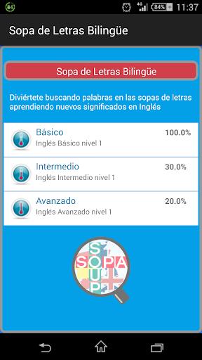Sopa de Letras Bilingüe PRO