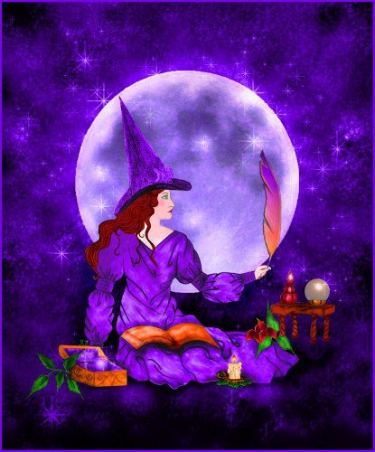 Moon And Magic Ritual, Moon Magic