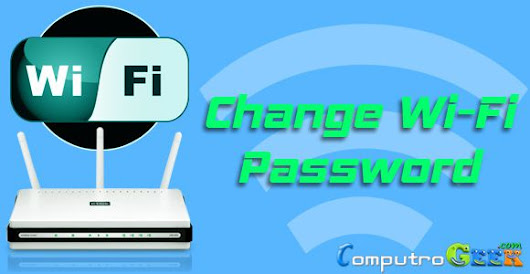 How to Change WiFi Password in Router or Modem