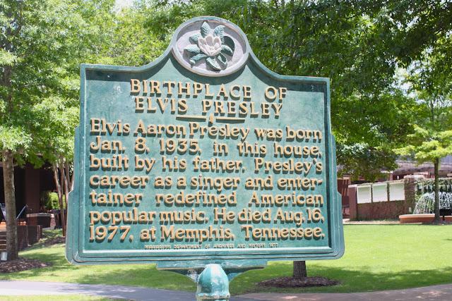 elvis presley birthplace