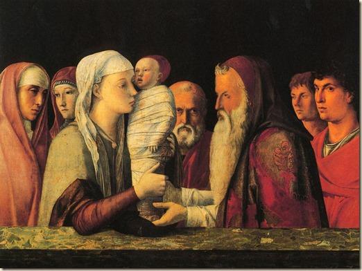 Giovanni Bellini, Presentación en el Templo