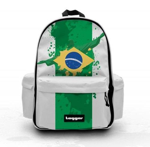 Inspiração Brasil - mochila com bandeira do Brasil