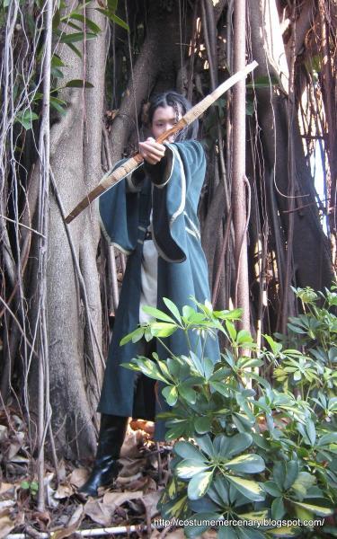 Elf Archer In Forest, Elven Girls 2