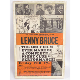 Lenny Bruce Rare Movie Poster