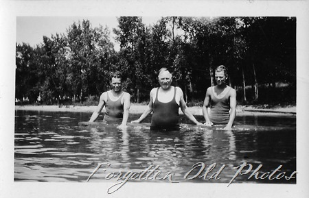 Men in swimsuits Brainerd ant