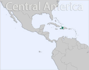 Haiti location map