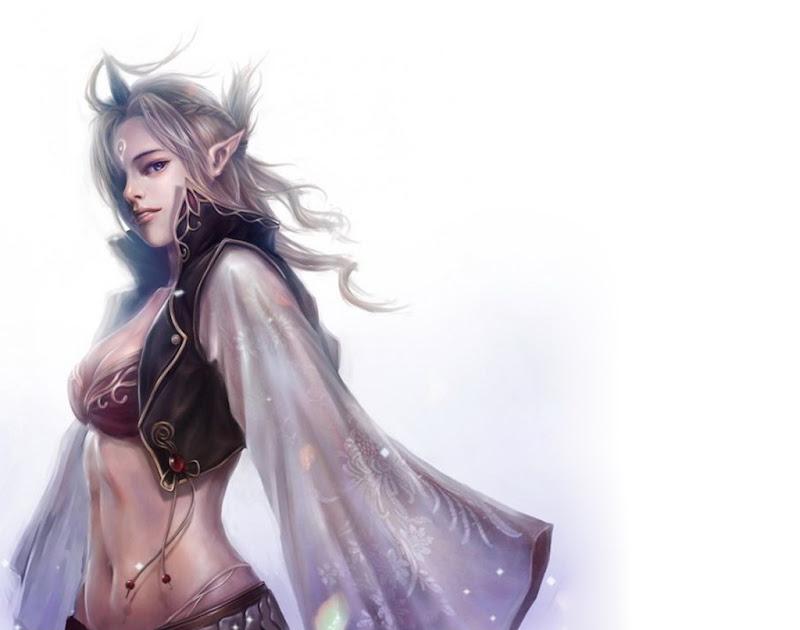 Elf White Angel, Elven Girls
