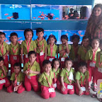 Field Trip to Aquarium by Nursery Morning Section at Witty World, Chikoowadi (2017-18)