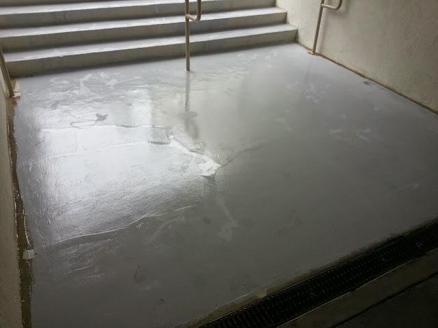 La Jolla Presbyterian Deck Waterproofing - 20131129_091054