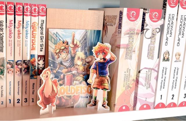 Review zum Manga Goldfisch Manga