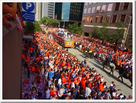 Astros Parade