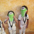 Crocodile Face Mask (Playgroup) 11-11-2014