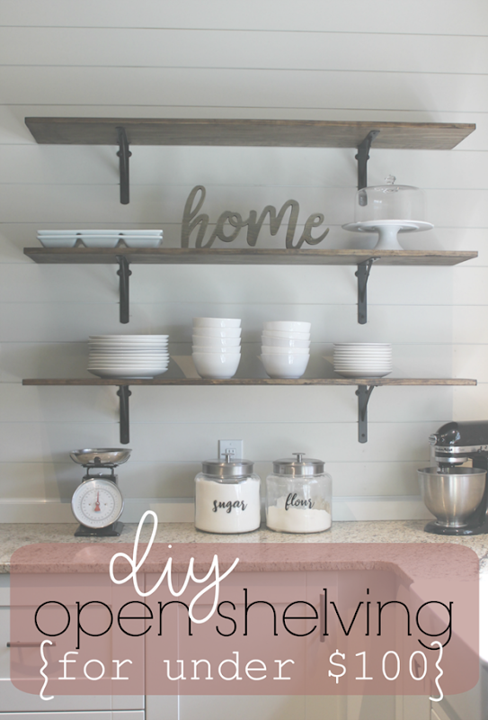 DIY Open Shelving for Under $100 at Life Storage