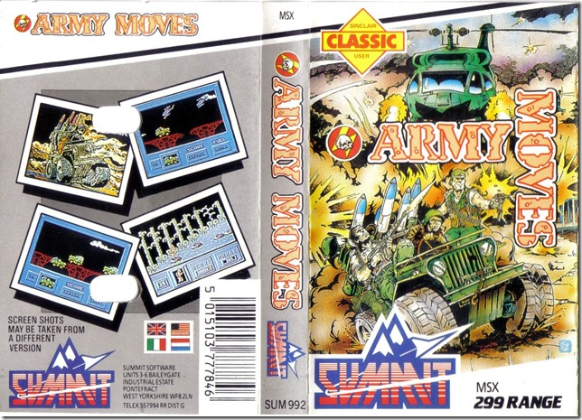 Army Move UK MSX