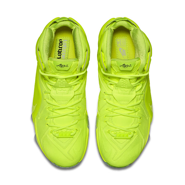 Official Look at This Weekends Nike LeBron 12 EXT Volt
