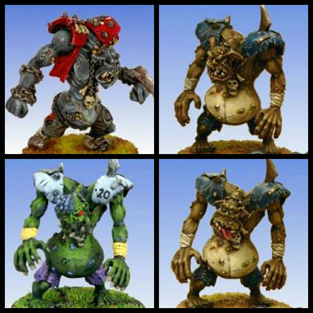 Blood Bowl Troll Neomics