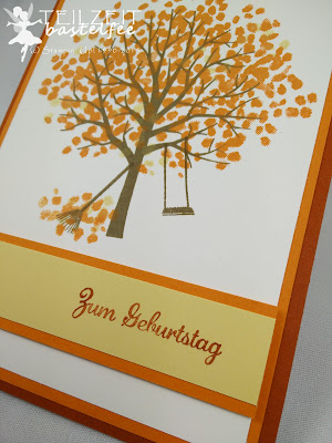 Stampin' Up! - In{k}spire_me #216, Color Challenge, Sheltered Tree, Baum der Freundschaft, Geburtstag, Birthday, Male Card, Express Yourself, In Worte gefasst, Fall, Autumn, Herbst