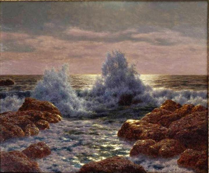 Ivan Fedorovich Choultse - Brisants (Mediterranee)