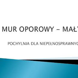 MUR OPOROWY - MAŁY Foto: farorz