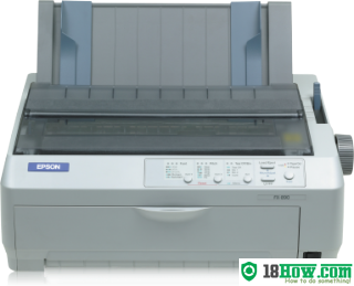 How to reset flashing lights for Epson 890 printer